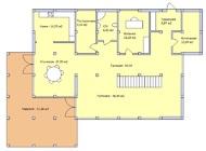 Проект дома с панорамным остеклением