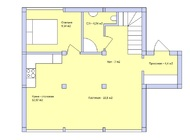 Проект  дома Фахверк 100 м2