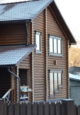 Дома из оцилиндрованного бревна под ключ в Самаре